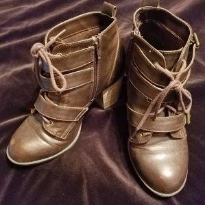 Brown booties (7)